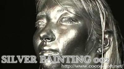 SILVER PAINTING 002