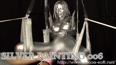 SILVER PAINTING 006