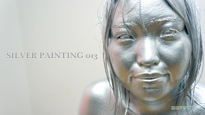 SILVER PAINTING 013