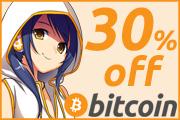 Bitcoin 30% off