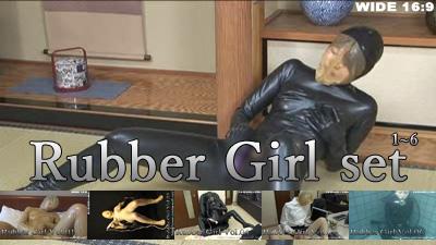Rubber Girl set & 美仁留の館厳選写真集